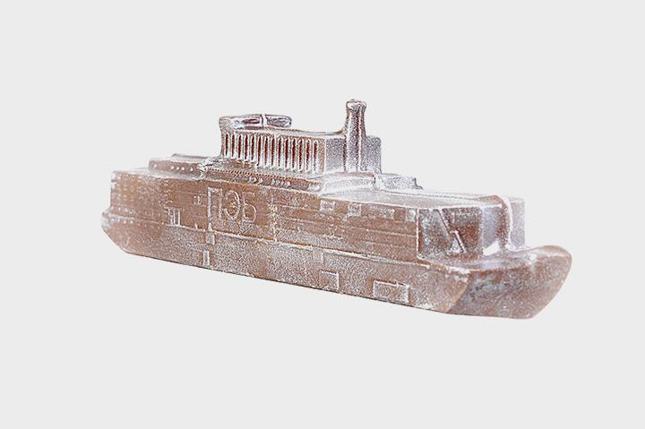 Шоколадный плавучий атомный реактор, на заказ