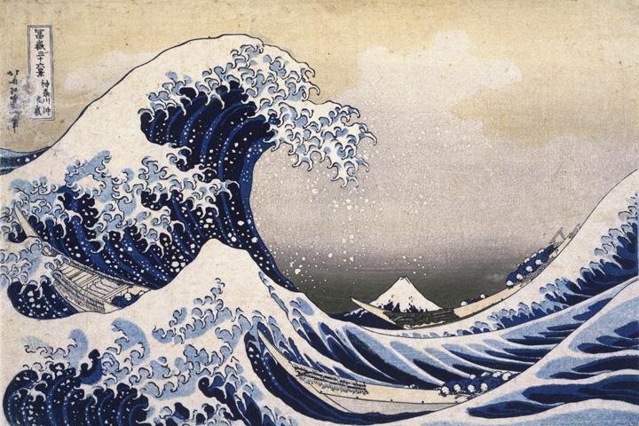 Кацусика Хокусай. Из серии «Тридцать шесть видов Фудзи»