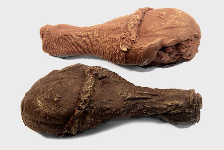 Фигурный шоколад «Куриная ножка», 300 р.