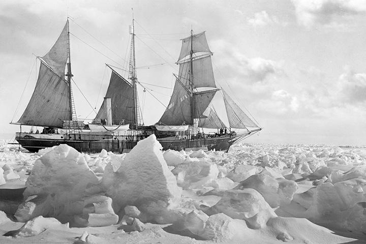 Фотографии из антарктической экспедиции Эрнеста Шеклтона
