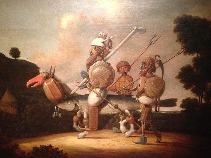 Франс Пост, «Дон Кихот». XVII век