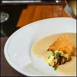 Ресторан Бифштекс - фотография 2 - Крем-суп из белых грибов
