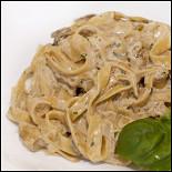 Ресторан Italia - фотография 4 - Домашние тальятелли с курицей