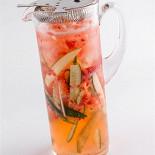 Ресторан Kitchenette - фотография 2 - Лимонад клубника-огурец