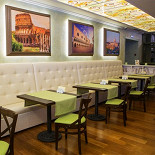 "Ресторан Da Pino - фотография 3 - ""Зеленый"" зал."