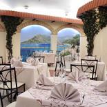 Ресторан Fantasia del Mare - фотография 3 - Интерьер верхнего зала