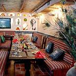 Ресторан Павлин-мавлин - фотография 4 - Нижний зал