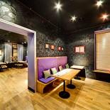 Ресторан Черника  - фотография 1 - Черника кафе интерьер первый зал