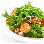 Ресторан Yummy Mix - фотография 3 - Руккола с креветками