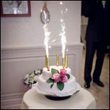 Ресторан Марципан - фотография 3 - Мой свадебный торт из настоящего марципана!