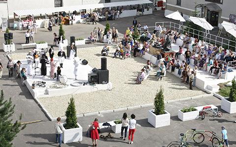 Новый летний двор, «Родина» и бургеры в Музее Москвы