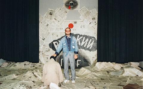 Ночь Дмитрия Пригова в галерее «Беляево»
