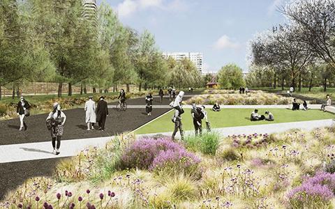 Как британские архитекторы перестроят парки за Третьим кольцом