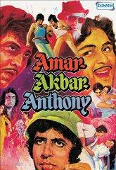 Постер Амар, Акбар, Антони