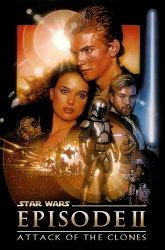 Постер Звездные войны. Эпизод II: Атака клонов