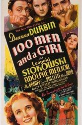 Постер Сто мужчин и одна девушка