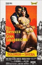 Постер Соломон и царица Савская