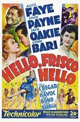 Постер Привет, Фриско, привет!