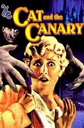 Постер Кот и канарейка