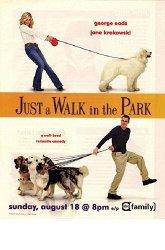 Постер Обычная прогулка в парке