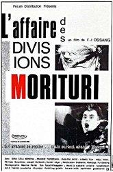 Постер Случай в дивизии Моритури