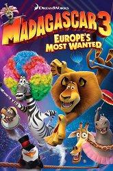 Постер Мадагаскар-3