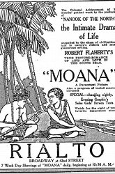 Постер Моана южных морей