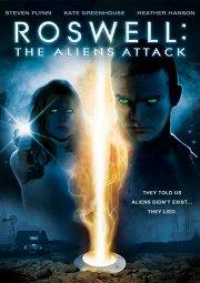 Постер Розвелл: Атака пришельцев