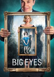 Постер Большие глаза