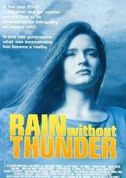 Постер Дождь без грома