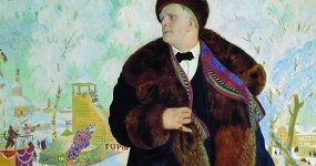 Борис Кустодиев. «Портрет Ф.И.Шаляпина»