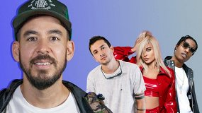 Майк Шинода из Linkin Park угадывает треки TØP, Machine Gun Kelly, Эминема и еще 17 хитов