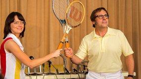 Эмма Стоун против Стива Кэрелла: теннис и феминизм в «Битве полов»