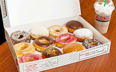Nathan's Famous, Krispy Kreme и другой новый американский фастфуд в Москве