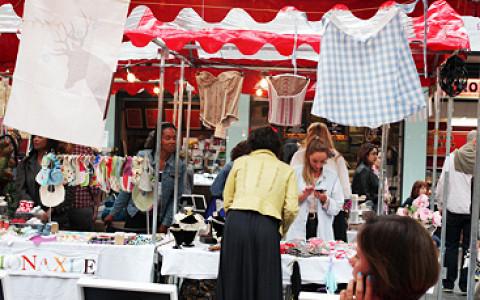Блошиный рынок с диджеями и фотовыставками в «Музеоне»