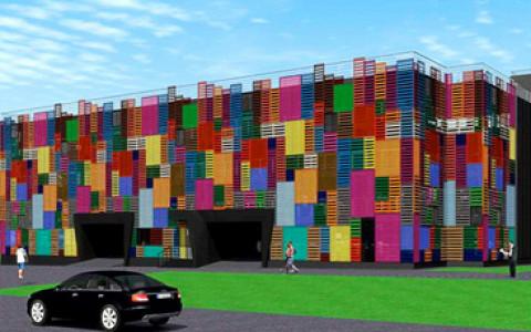 Как будут выглядеть школы, гаражи и надземные пешеходные переходы