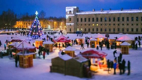 Рождество в Гатчинском дворце