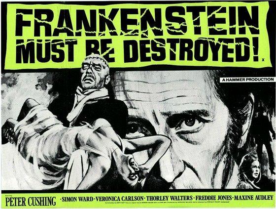 Франкенштейн должен быть уничтожен (Frankenstein Must Be Destroyed)