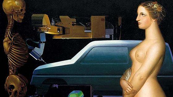 Встреча двух миров: из коллекции Renault Art