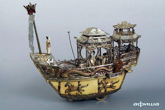 Ладья небесная: китайская механическая игрушка