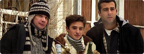 Трое и Снежинка