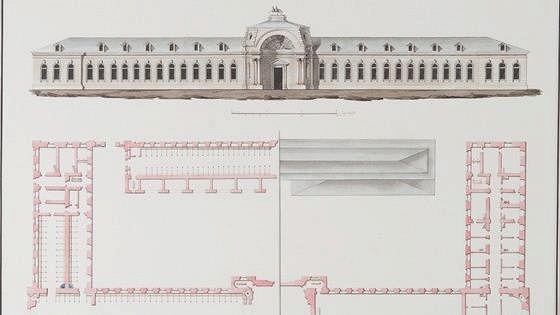 Атлас Гатчинскому дворцу с садами, зверинцами и всеми в них имеющимися строениями, равно города и полей