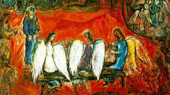 Bible: Литографии Марка Шагала