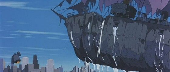 Летающий корабль-призрак (Sora tobu yûreisen)