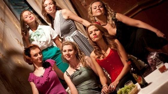 Восемь любящих женщин