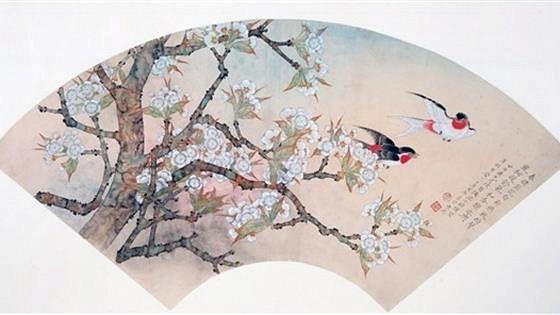 Янь Дуньцзянь. Цветы и птицы