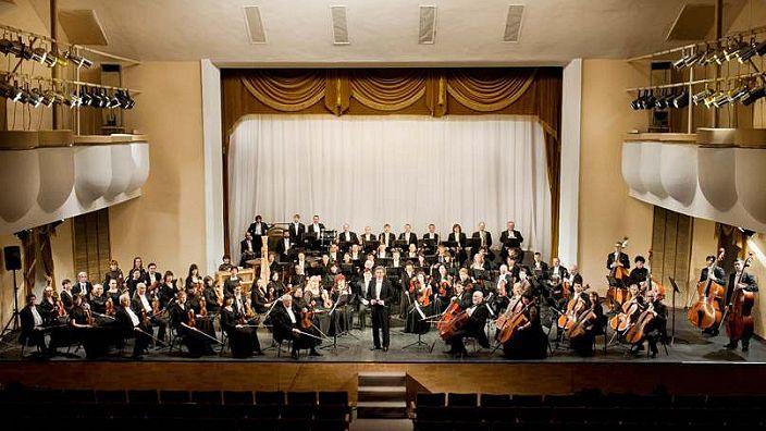 Ростовский академический симфонический оркестр. Дирижер Дмитрий Ноздрачев (Петербург)