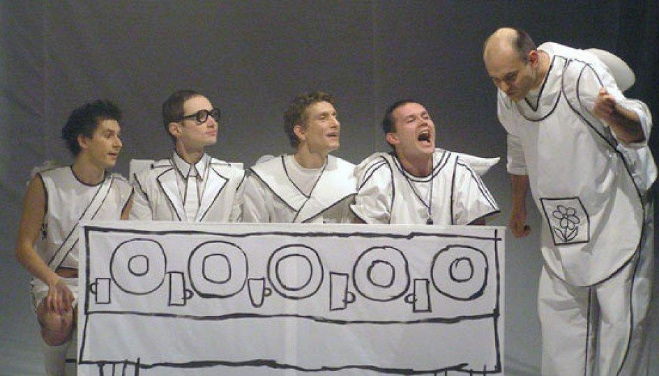Театр: Начало. Рисунок первый, Санкт-Петербург