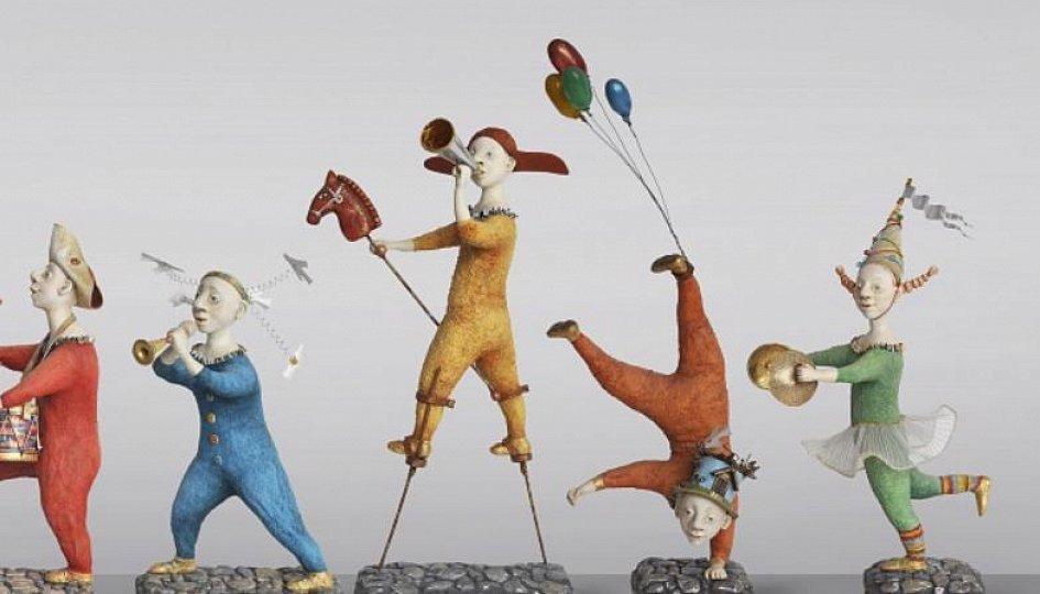 Выставки: Ольга Смагина. Театральные зарисовки