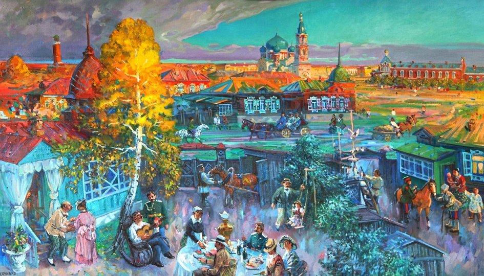 Выставки: Сергей Сочивко. Мой город